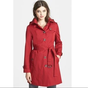 Michael Kors belted trench coat removable liner